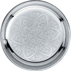 Mercurio Decorated Glass Coaster, Set of 2-799/14