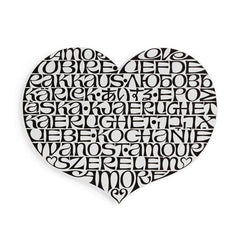 Metal Wall Relief Miscellaneous Vitra International Love Heart