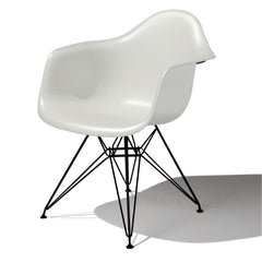 Eames Molded Plastic Arm Chair Wire Base