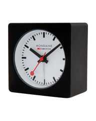 Mondaine Square Alarm Clock (40 mm)
