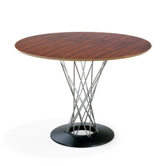 "Noguchi Cyclone Dining Table Dining Tables Knoll Rosewood 42"" diameter + $212.00"