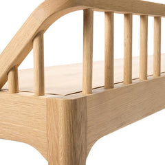 Oak Spindle Bench Benches Ethnicraft