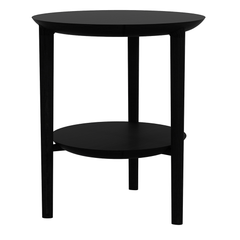 Oak Bok Side Table side/end table Ethnicraft Blackstone Oak