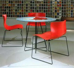Paperclip Table - Round Dining Tables Knoll