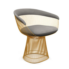 Platner Arm Chair - Gold