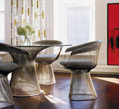 Platner Arm Chair Side/Dining Knoll