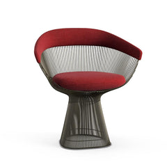 Platner Arm Chair Side/Dining Knoll Metallic Bronze Bayberry Knoll Velvet