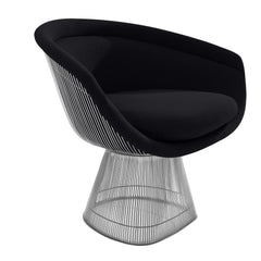 Platner Lounge Chair lounge chair Knoll Nickel Onyx Classic Boucle +$164.00