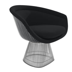 Platner Lounge Chair lounge chair Knoll Nickel Grey Cato +$751.00