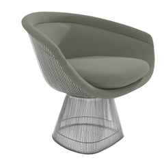 Platner Lounge Chair lounge chair Knoll Nickel Sand Cato +$751.00