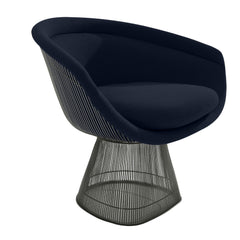 Platner Lounge Chair lounge chair Knoll Bronze +$319.00 Navy Mariner