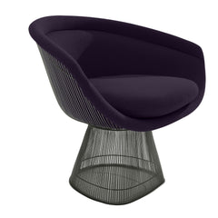 Platner Lounge Chair lounge chair Knoll Bronze +$319.00 Black Iris Classic Boucle +$164.00