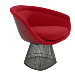 Platner Lounge Chair lounge chair Knoll Bronze +$319.00 Crimson Classic Boucle +$164.00