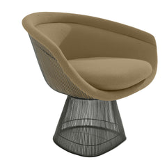 Platner Lounge Chair lounge chair Knoll Bronze +$319.00 Flax Classic Boucle +$164.00