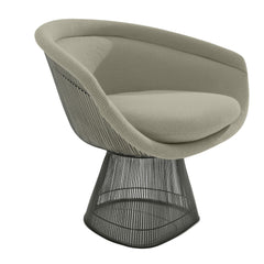 Platner Lounge Chair lounge chair Knoll Bronze +$319.00 Neutral Classic Boucle +$164.00