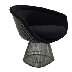 Platner Lounge Chair lounge chair Knoll Bronze +$319.00 Onyx Classic Boucle +$164.00