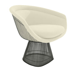 Platner Lounge Chair lounge chair Knoll Bronze +$319.00 Pearl Classic Boucle +$164.00