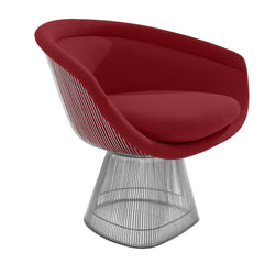 Platner Lounge Chair lounge chair Knoll Nickel Cayenne Classic Boucle +$164.00