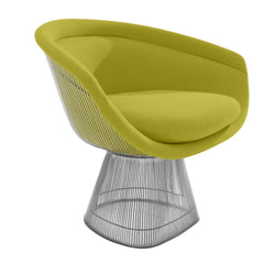 Platner Lounge Chair lounge chair Knoll Nickel Chartreuse Classic Boucle +$164.00