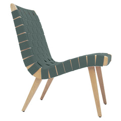 Risom Lounge Chair lounge chair Knoll Clear Maple Eucalyp. Cotton-Nylon Webbing