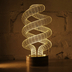 Spiral Table Lamp Table Lamps Studio Cheha