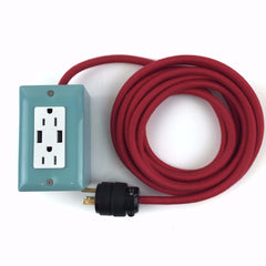 12' EXTO DUAL-USB, DUAL-OUTLET - MINT