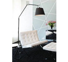 Tolomeo Mega Floor Lamp in Black Floor Lamps Artemide