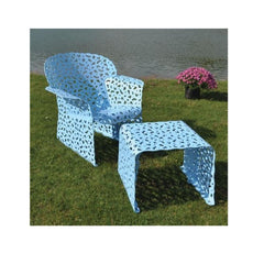 Richard Schultz Topiary Small Ottoman / End Table side/end table Knoll