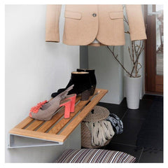 Wall Mounted Hat & Shoe Rack