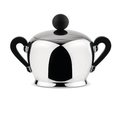 Bombé Sugar Bowl Kitchen Alessi Stainless Steel & Bakelite
