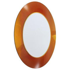 All Saints Transparent Mirror mirror Kartell Amber