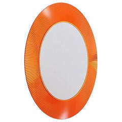 All Saints Transparent Mirror mirror Kartell Tangerine