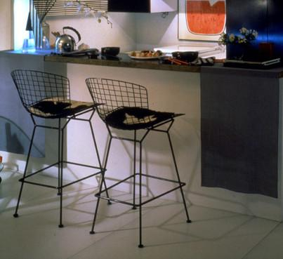 Phenomenal Bertoia Stool With Seat And Back Pad Ocoug Best Dining Table And Chair Ideas Images Ocougorg