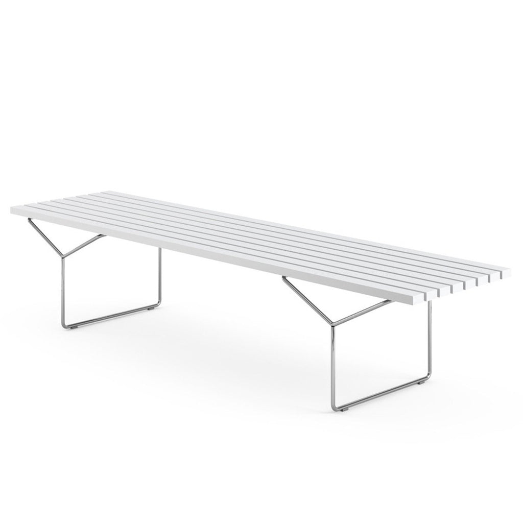 bench with seat cushions