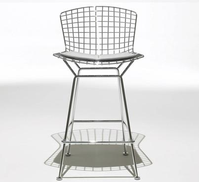 Wondrous Bertoia Stool With Seat And Back Pad Ocoug Best Dining Table And Chair Ideas Images Ocougorg