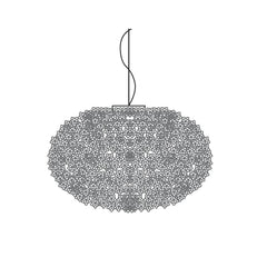 Bloom Round Suspension Lamp