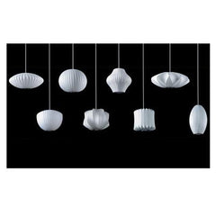 Nelson Apple Bubble Pendant hanging lamps herman miller