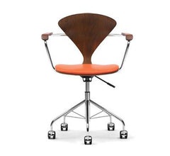 Cherner Task Arm Chair - Upholstered Seat