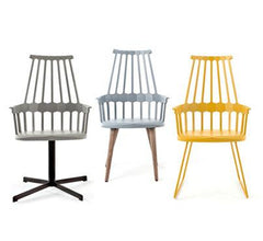 Comback 4-Leg Chair Side/Dining Kartell