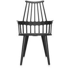 Comback 4-Leg Chair Side/Dining Kartell black