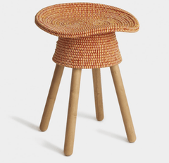 Coiled Stool Stools Umbra Shift Red