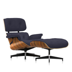 Eames Lounge Chair & Ottoman in Mohair Supreme