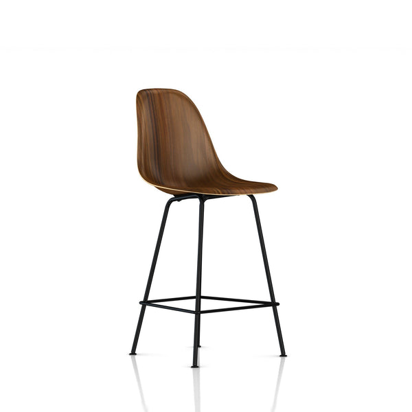 Eames Molded Wood Counter Stool