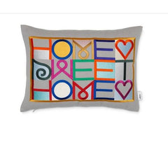 Embroidered Pillow Pillows Vitra Home Sweet Home