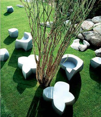 Frank Gehry Coffee Table/Sitting Unit Outdoors Heller