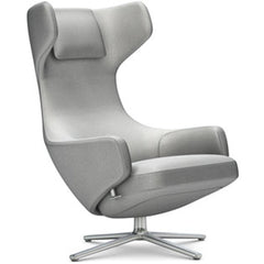 Grand Repos Lounge Chair lounge chair Vitra Polished 16.1-Inch Cosy Contrast - Pebble Grey - 01