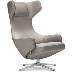 Grand Repos Lounge Chair lounge chair Vitra Polished 16.1-Inch Cosy Contrast - Fossil - 02