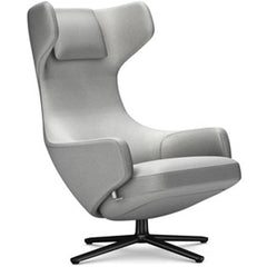 Grand Repos Lounge Chair lounge chair Vitra Basic Dark 16.1-Inch Cosy Contrast - Pebble Grey - 01