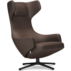 Grand Repos Lounge Chair lounge chair Vitra Basic Dark 16.1-Inch Cosy Contrast - Nutmeg - 03