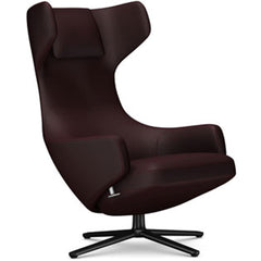 Grand Repos Lounge Chair lounge chair Vitra Basic Dark 16.1-Inch Cosy Contrast - Aubergine - 05